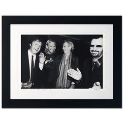 """Paul McCartney, Joe Walsh, Keith Richards & Ringo Starr"" Limited Edition Giclee by Rob Shanahan, Nu"
