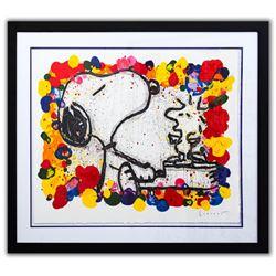 "Tom Everhart- Hand Pulled Original Lithograph ""Super Star"""