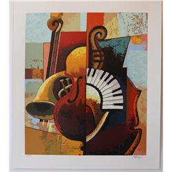 "Igor Kovalev- Original Serigraph on Paper ""Symphony III"""