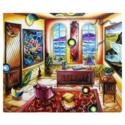 "Alexander Astahov- Original Oil on Canvas ""View Into The Future"""