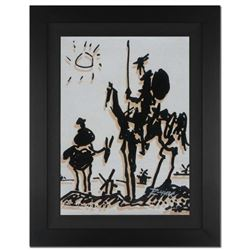 "Ringo Daniel Funes - (Protege of Andy Warhol's Apprentice - Steve Kaufman), ""Don Quixote"" Framed One"