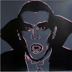 "Andy Warhol- Screenprint in colors ""Dracula, 1981"""