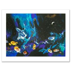 """""""Moondance"""" Limited Edition Serigraph by William Schimmel, Numbered and Hand Signed by the Artist. C"""