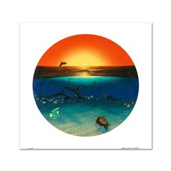 """""""Warmth of the Sea"""" Limited Edition Giclee on Canvas by renowned artist WYLAND, Numbered and Hand Si"""
