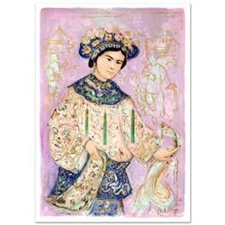 """""""Princess of the Imperial Summer Palace"""" Limited Edition Lithograph (27.5"""" x 40"""") by Edna Hibel (191"""