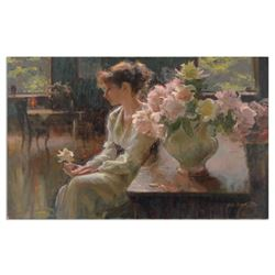 """Dan Gerhartz, """"The Moment"""" Limited Edition on Canvas, Numbered 129/150 and Hand Signed with Letter o"""
