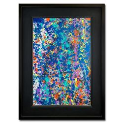 """Wyland, """"Coral 9"""" Hand Signed Original Painting on Canvas with Letter of Authenticity."""