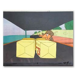 The Pink Panther Show Original Production Cel and Production Sketch. Includes letter of authenticity