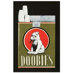 """Stanley Mouse (b. 1940)- Hand Pulled Original Lithograph """"Doobies"""""""