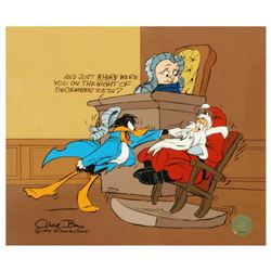"""Santa on Trial"" by Chuck Jones (1912-2002). Limited Edition Animation Cel with Hand Painted Color."