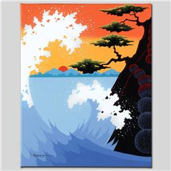 """Sea Fantasy"" Limited Edition Giclee on Canvas by Larissa Holt, Numbered and Signed. This piece come"
