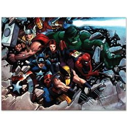 "Marvel Comics ""Son of Marvel: Reading Chronology"" Numbered Limited Edition Giclee on Canvas by John"