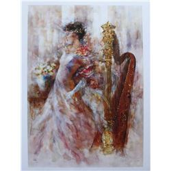 "Gary Benfield ""Sweet Music"" Giclee on Paper"