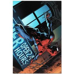 """Marvel Comics """"The Amazing Spider-Man #592"""" Numbered Limited Edition Giclee on Canvas by Joe Quesada"""