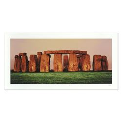 """Robert Sheer, """"Spirits of Stonehenge"""" Limited Edition Single Exposure Photograph, Numbered and Hand"""