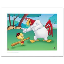 """""""Let's Play Ball"""" Limited Edition Giclee from Warner Bros., Numbered with Hologram Seal and Certific"""