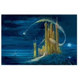 """Peter (1913-2007) & Harrison Ellenshaw, """"Gold Castle"""" Limited Edition Giclee on Canvas from Disney F"""