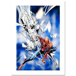 """Stan Lee Signed, """"Vengeance of the Moon Knight #9"""" Numbered Marvel Comics Limited Edition Canvas by"""