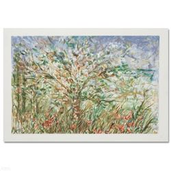 """""""Tree in Spring"""" Limited Edition Serigraph by Edna Hibel (1917-2014), Numbered and Hand Signed with"""