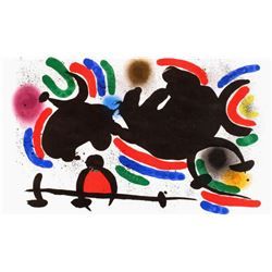 """Joan Miro- Lithograph """"Miro lithographe I-07"""""""