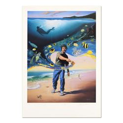 """""""Another Day At the Office"""" Limited Edition Lithograph, Numbered and Hand Signed by Wyland and Jim W"""