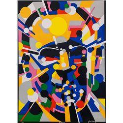 "Waldemar Swierzy (1931-2013)- Hand Pulled Original Lithograph ""Benny"""