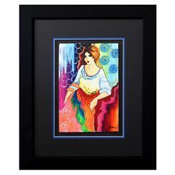 "Patricia Govezensky- Original Watercolor ""Kacey"""