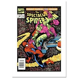 "Stan Lee Signed, ""Spectacular Spider-Man #200"" Numbered Marvel Comics Limited Edition Canvas by Sal"