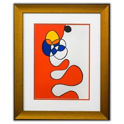 """Alexander Calder- Lithograph """"DLM173 - Composition V"""""""