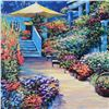 """Image 2 : Howard Behrens (1933-2014), """"Nantucket Flower Market"""" Limited Edition on Canvas, Numbered and Signed"""