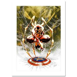 "Stan Lee Signed, ""Civil War #3"" Numbered Marvel Comics Limited Edition Canvas by Michael Turner (197"