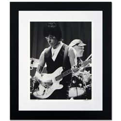 """Jeff Beck"" Limited Edition Giclee by Rob Shanahan, Numbered and Hand Signed with COA. This piece co"