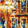 "Image 2 : Leonid Afremov (1955-2019) ""Old Light"" Limited Edition Giclee on Canvas, Numbered and Signed. This p"