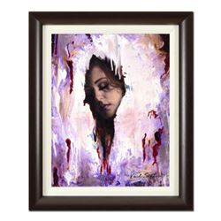 "Vincent Cacciotti, ""Virtual"" Framed Original Oil Painting on Canvas, Hand Signed with Letter of Auth"