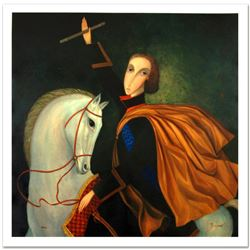 """Legendary Russian Artist Sergey Smirnov (1953-2006). """"Peter The Great: Emperor"""" Limited Edition Mixe"""