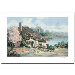 """""""Sussex I"""" Limited Edition Serigraph by Earlene Moses, Numbered and Hand Signed with Certificate of"""