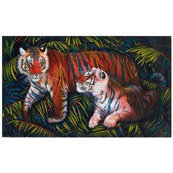 "Vera V. Goncharenko- Original Giclee on Canvas ""Home"""
