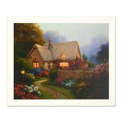 """Sergon, """"Bougainvillea Cottage"""" Limited Edition, Numbered and Hand Signed!"""