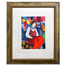 "Patricia Govezensky- Original Watercolor ""Manon"""