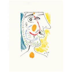 """Pablo Picasso- Lithograph """"Le Gout du Bonheur 09"""""""