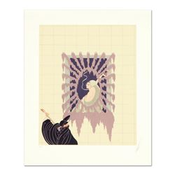 """Erte (1892-1990), """"La Serenade"""" Limited Edition Serigraph, Numbered and Hand Signed with Certificate"""