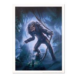 "John Alvin ""Predator"" Licensed Limited Edition Collectible Lithograph."
