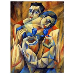 "Yuroz, ""The Preservation Of Love"" Hand Signed Limited Edition Serigraph on Canvas with Certificate o"