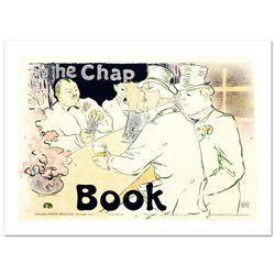 """The Chap Book"" Hand Pulled Lithograph by the RE Society, Image Originally by Henri de Toulouse-Laut"