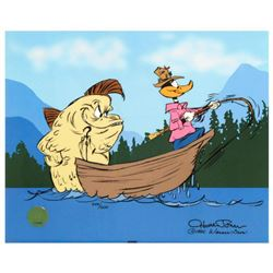 """""""Fish Tale"""" by Chuck Jones (1912-2002). Limited Edition Animation Cel with Hand Painted Color Number"""
