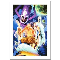 """Marvel Comics, """"Fantastic Four #545"""" Numbered Limited Edition Canvas by Michael Turner (1971-2008) w"""