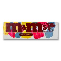 """Steve Kaufman (1960-2010), """"M&Ms"""" Hand Signed and Numbered Limited Edition Hand Pulled silkscreen mi"""