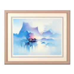 """H. Leung, """"Shangri-La"""" Framed Limited Edition, Numbered 139/850 and Hand Signed with Letter of Authe"""