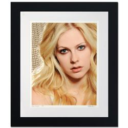 """""""Avril Lavigne"""" Limited Edition Giclee by Rob Shanahan, Numbered and Hand Signed with COA. This piec"""