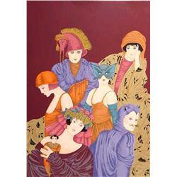 "Haya Ran- Original Serigraph ""Motherhood"""